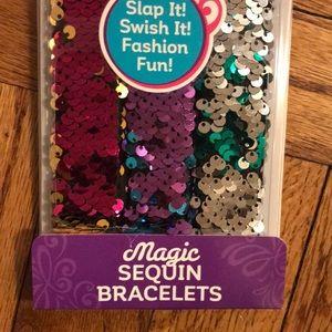Cra-Z-Art Accessories - New Magic Sequin Slap Bracelets